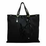 YSL Large Black Tote