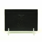 YSL Leather Cardholder in Brown 211908