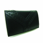 YSL Leather Double Wallet 177533