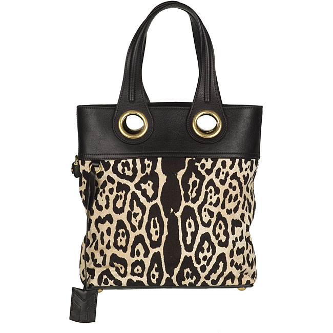 Yves Saint Laurent Leopard Palma Tote - YSL Totes ...
