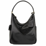 YSL Multi Hobo in Black Patent Leather