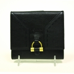 YSL Muse Leather Wallet in Black 160172