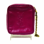 YSL Pink Patent Leather Belle de Jour Clutch