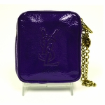 YSL Purple Patent Leather Belle de Jour Clutch