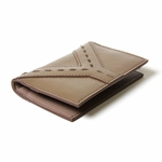 YSL Tan Patent Leather Business Card Case 257424