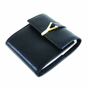 YSL Black Leather Case with Notes - Queen Bee of Beverly Hills ...