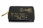 YSL Y-Mail Black Patent Leather Coin Case
