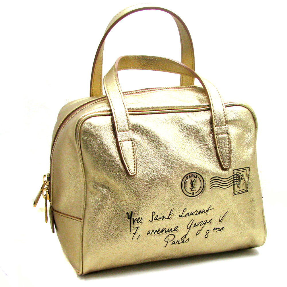 YSL Y-Mail Mini Bag Gold - Queen Bee of Beverly Hills - Archives