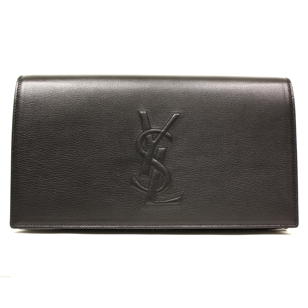 y saint laurent borse - YSL Belle de Jour Black Leather Large Clutch Bag 361120|Queen Bee ...