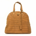 Yves Saint Laurent YSL Oversized Muse Brown Tan Bag 257435