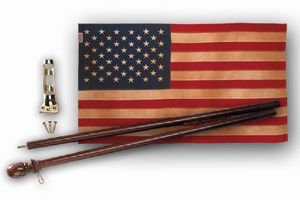 Heritage 50-Star Flag Kit  - Made in the U.S.A.