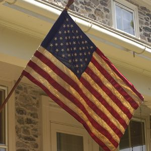 Heritage Series:  2 1/2'x4' Cotton 50-Star Flag  - Made in the U.S.A.