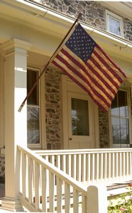 Heritage Series 3' x 5' Cotton 50-Star Flag  - Made in the U.S.A.