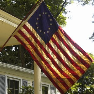 Heritage Series:  3'x5' Cotton 13-Star Flag - Made in the U.S.A.