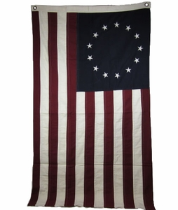 "Large Betsy Ross Flag 32"" x 58"""