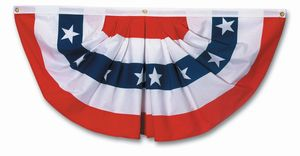 Polycotton  4' x 8'  Full Fan Flag
