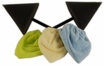 2 Bufferstick Wheel Polishing Tools with 3 Microfiber Bonnets