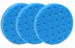 3 Pack - Blue Finessing CCS Smart Pads� DA 5.5 inch Foam Pads