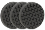 3 Pack Cobra Cross Groove� 6.5 Inch Gray Finishing Pads