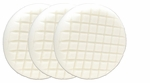3 Pack Cobra Cross Groove� 6.5 Inch White Polishing Pads