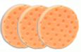 3 Pack -Orange Light Cutting CCS Smart Pads� DA 5.5 inch Foam Pads