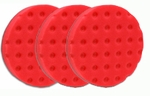 3 Pack -Red UltraSoft CCS Smart Pads� DA 5.5 inch Foam Pads