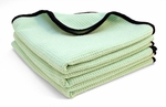 "3 Pack  The Guzzler Waffle Weave Towels, 16"" x 24"""
