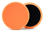 6.5 Inch Hybrid Power Finish Orange Pad (Single)