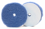 6 Inch Hybrid Power Finish Blue Wool Pad (Single)