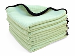 "6 Pack  The Guzzler Waffle Weave Towels, 16"" x 24"""