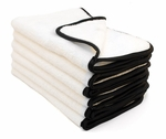 Arctic White Microfiber Towel, 16 x24 inches, 6 Pack