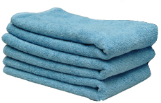 Blue All Purpose Microfiber Towels 3 Pack
