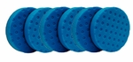 CCS 6.5 inch Blue Finessing Pad 6 Pack