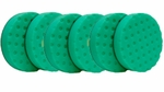 CCS 6.5 inch Green Polishing/Finishing Pad 6 Pack