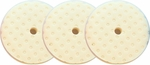 CCS 8.5 inch White Polishing Pad 3 Pack
