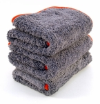 Chinchilla Microfiber Buffing Cloths 3 Pack
