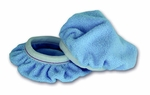 Cobra Deluxe 6 Inch Blue Microfiber Bonnets 2 Pack