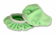 Cobra Deluxe 6 Inch Green Microfiber Bonnets 2 Pack