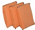 Cobra Microfiber Applicator Pads: Package of 3
