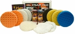 Dual Action 6.5 inch XL Foam Pad Kit