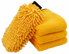 Gold Plush Microfiber Kit
