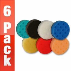 Lake Country 4 Inch CCS Pads 6 Pack - Your Choice!