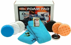 Lake Country CCS Spot Buffs 4 Inch Foam Pad Kit