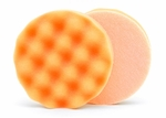 Lake Country Waffle Pro 4 Inch Orange Heavy Polishing Pad
