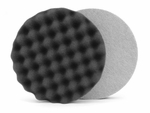 Lake Country Waffle Pro 6.5 Inch Black Finishing Pad