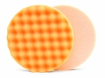 Lake Country Waffle Pro 6.5 Inch Orange Heavy Polishing Pad