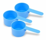 Measuring Cups, 1 oz., 3 pack