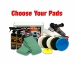 Porter Cable 7424XP & CCS Pad Kit  - Choose Your Pads! FREE BONUS