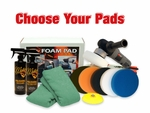 Porter Cable 7424XP & FLAT Pad Kit - Choose Your Pads! FREE BONUS