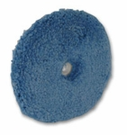 The Edge 2000 6 inch Blue Finishing Wool Pad